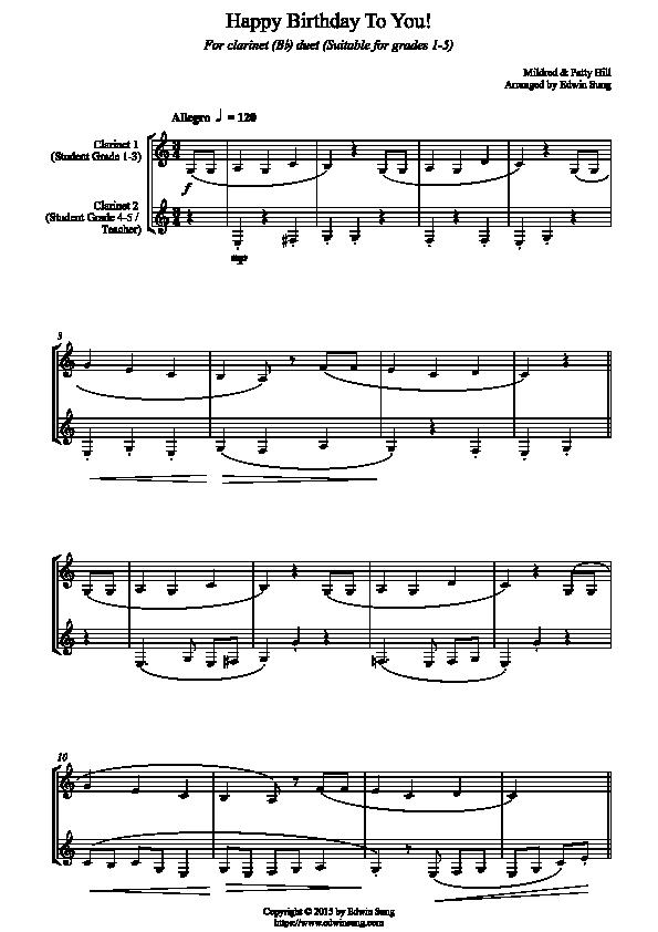 Clarinetduet