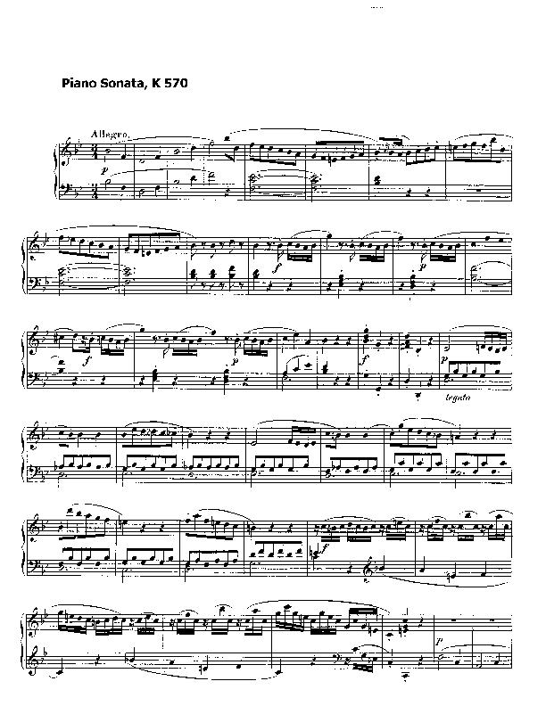 Piano sonata no.17 in b flat major