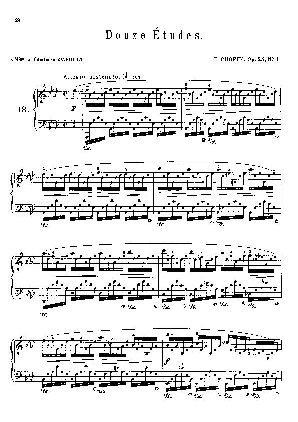 Etudes  op.25