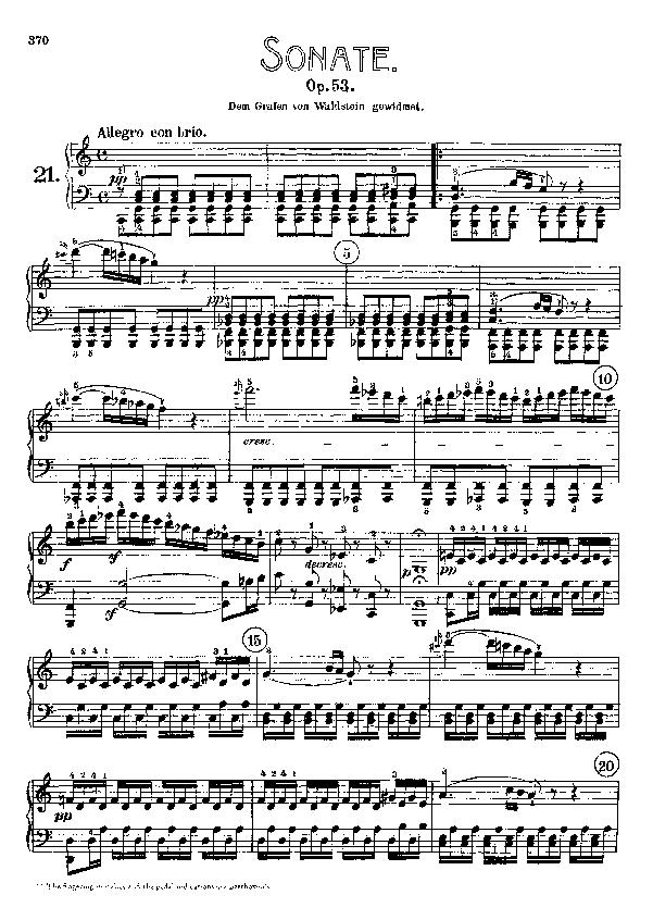 Waldstein sonata