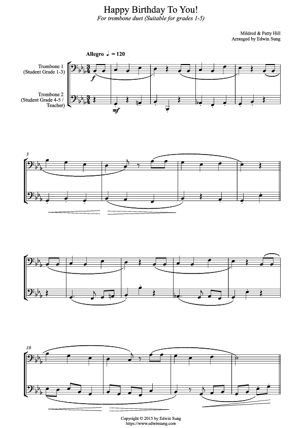Tromboneduet