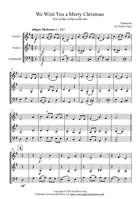 Violinviolincello   score and parts